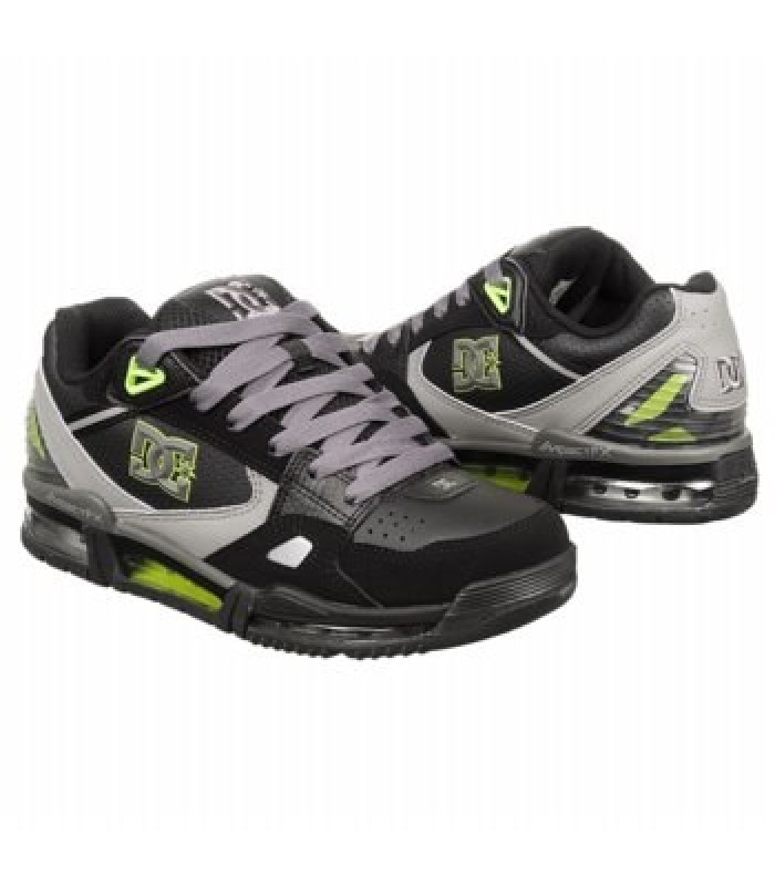 Кроссовки DC Shoes Versaflex Black/Soft Lime